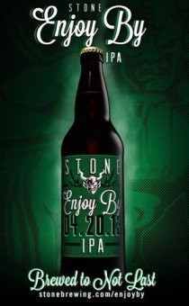 549219 10151483793367432 418125689 n e1365474256368 Review: Stone Brewing Enjoy By 4.20.13 IPA