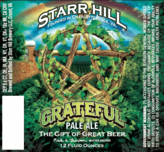 starr hill grateful 300x278 Review: Starr Hill Grateful Pale Ale and Red Roostarr Coffee Cream Stout