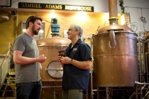 DeanandJim 300x200 Sampling Samuel Adams Collaboration Beers, Brewing the American Dream