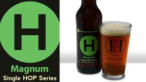 hermitage magnum 300x170 Review: Hermitage Brewing Company India Pale Ale Single Hop Series   Magnum