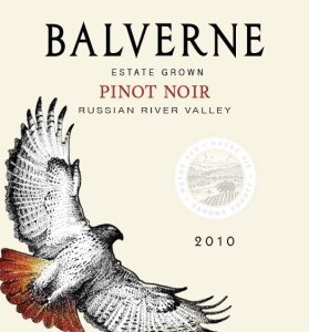 balverne pinot noir 279x300 Review: Wines of Balverne, 2013 Releases