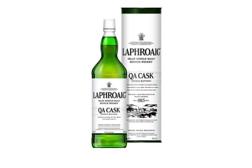 laphroaig travel tube bottle 04131 525x350 Review: Laphroaig QA Cask and Cairdeas Port Wood Edition 2013