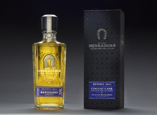 Coleccion de la Casa Cognac Cask Package2 525x386 Review: Tequila Herradura Coleccion de la Casa Cognac Cask Finished Reposado, Reserva 2013