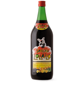 Lolailo sangria bottle shot