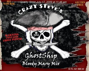 ghostship 300x241 Review: Crazy Steves Bloody Mary Mixes