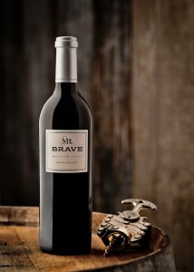 Mt. Brave Single Bottle Shot with Corkscrew 214x300 Review: 2010 Mt. Brave Cabernet Sauvignon Mt. Veeder