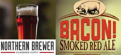 Stock Homebrew Review: Northern Brewer   BACON! Smoked Red Ale