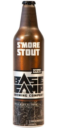 base camp Smore Stout Bottle small Review: 4 Beers from Base Camp Brewing