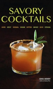 savory cocktails 180x300 Book Review: Savory Cocktails
