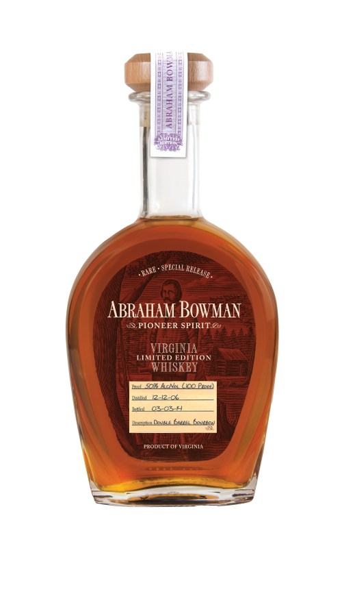 Abraham Bowman Double Barrel Bourbon March 2014 525x911 Review: Abraham Bowman Double Barrel Bourbon