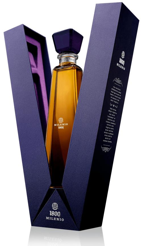 1800 milenio 525x908 Review: 1800 Milenio Extra Anejo Tequila