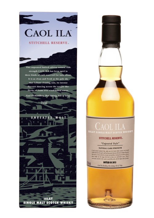 Caol Ila 2013 High Res 525x742 Review: Caol Ila Stitchell Reserve Unpeated Style Limited Edition 2013