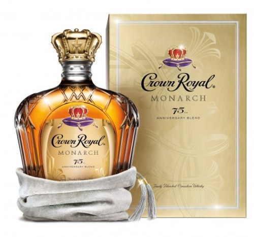 Crown Royal Monarch 75th Anniv Blend Hi Res Bottle Shot e1404796063243 525x491 Review: Crown Royal Monarch 75th Anniversary Blend