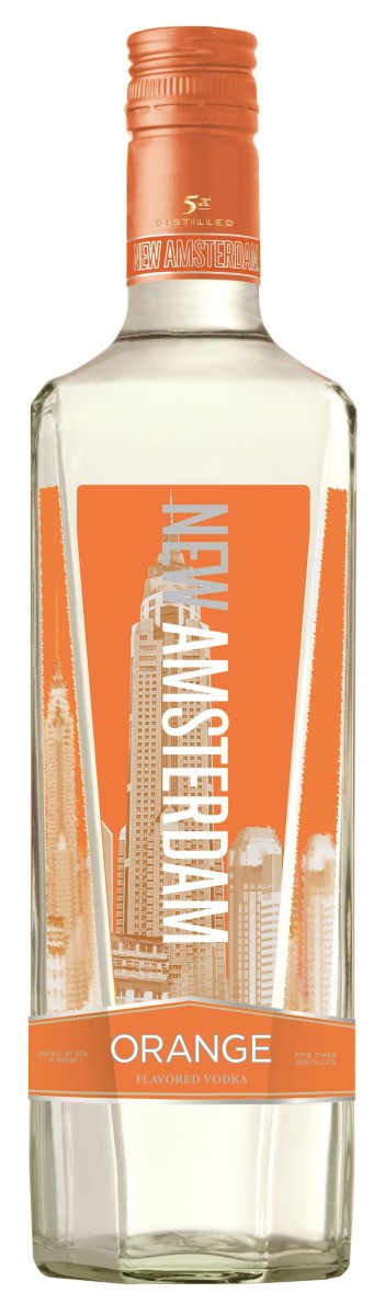New Amsterdam Orange 750ml JS 351x1200 Review: New Amsterdam Orange and Pineapple Vodkas