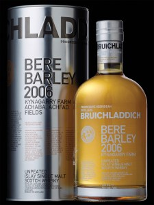 Bruichladdich Bere Barley 2006 Islay Single Malt Scotch Whisky 225x300 Review: Bruichladdich Bere Barley 2006