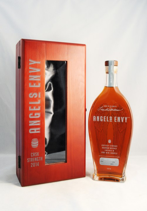 angels envy cask strengh 2014