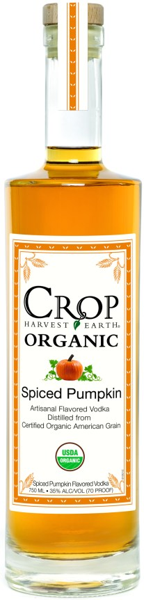 Crop Spiced Pumpkin Final 288x1200 Review: Crop Organic Spiced Pumpkin Vodka