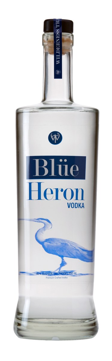 blue heron vodka 374x1200 Review: Blue Heron Vodka