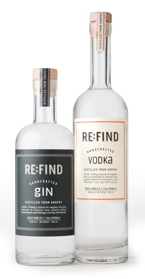 refind Gin Vodka 525x1008 Review: Re:Find Vodka, Cucumber Vodka, Gin, & Limoncello