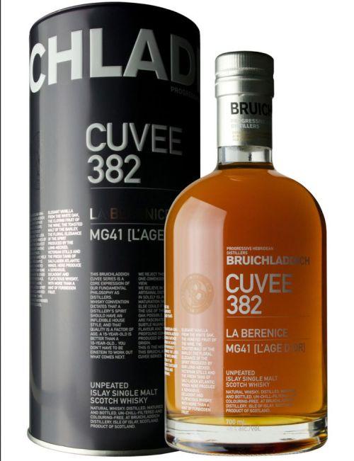Dec12 BruichladdichCuvee 382 1 525x684 Review: Bruichladdich Cuvee 382 La Berenice 21 Years Old