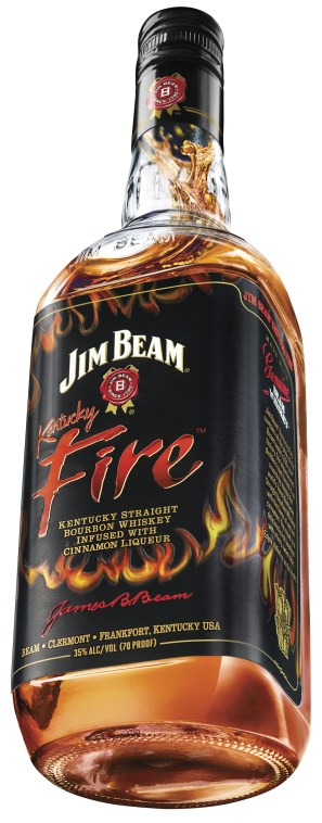 Kentucky Fire Bottle Shot 470x1200 Review: Jim Beam Kentucky Fire