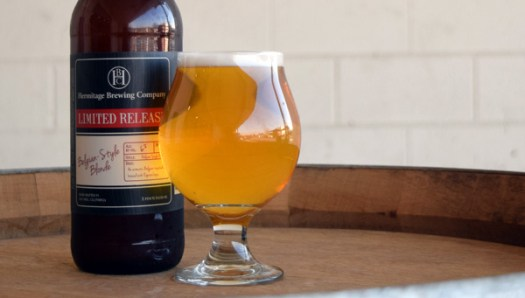 Hermitage Brewing Company Belgian-Style Blonde