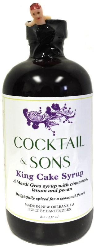 Cocktail and Sons King Cake Syrup Limited Edition 2016
