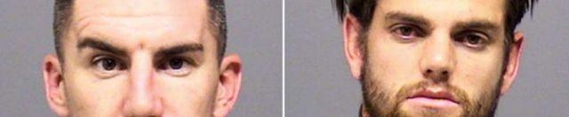 Ridgewell and Gleeson mugshots from Clackamas County Sheriff's Office