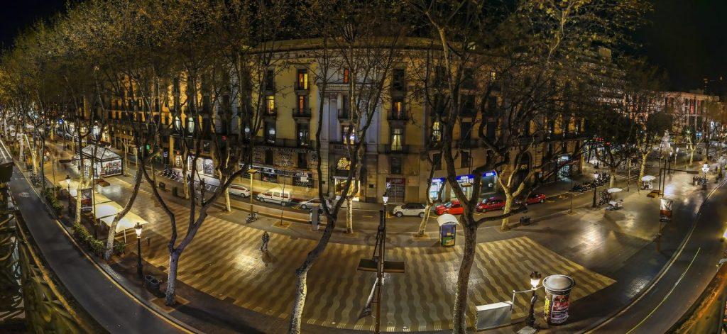 Las Ramblas in Barcelona. Photo by Luc Mercelis via Flickr CC