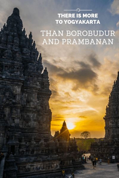 Renowned for being the getaway to the world famous temples of Borobudur and Prambanan, Yogyakarta draws in hundreds of thousands of visitors a year!