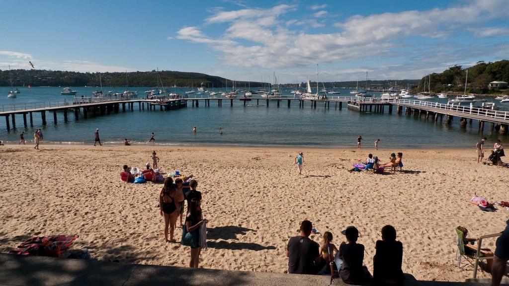 Balmoral beach on an autumn afternoon. Photo credit: sydneydawg2006 via Flickr CC