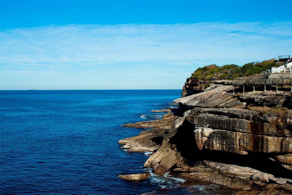 Scenery of Bondi to Coogee Walk, Sydney,