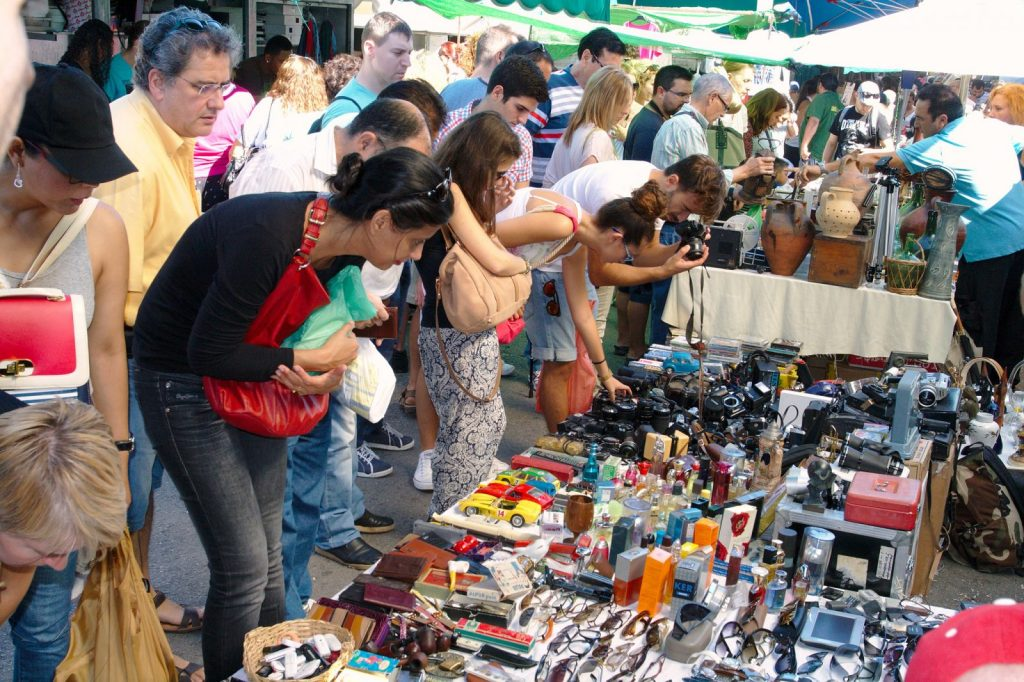Mercado de Encants in Barcelona. Photo by davrandom via Flickr CC