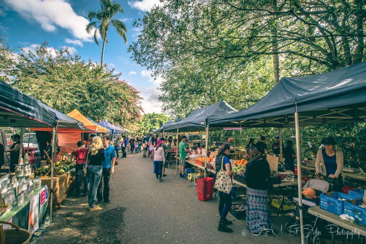 West End Market, Davies Street, West End. Brisbane. Australia