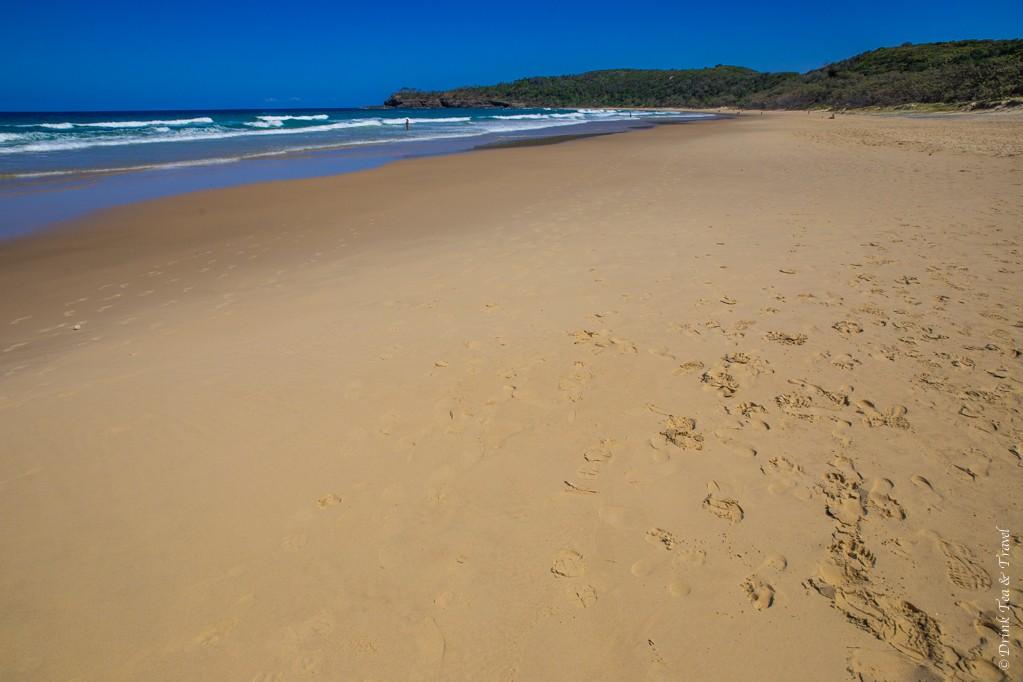 Ah beautiful secluded beach of Alexandria Bay...
