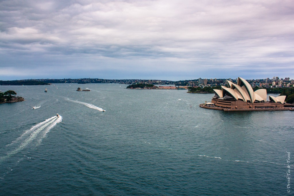 The iconic shot of Sydney's Harbour