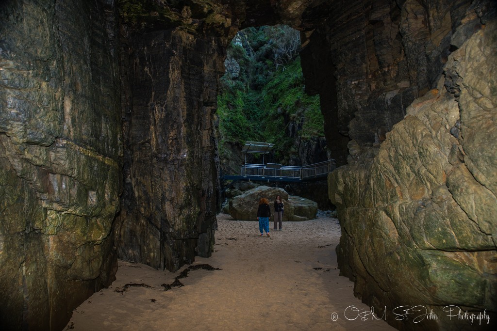 The Remarkable Cave from the inside
