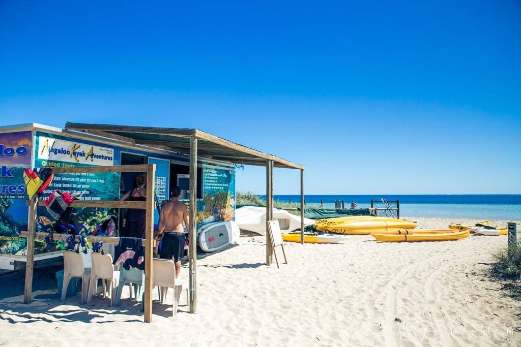 Equipment hire in Coral Bay. Western Australia