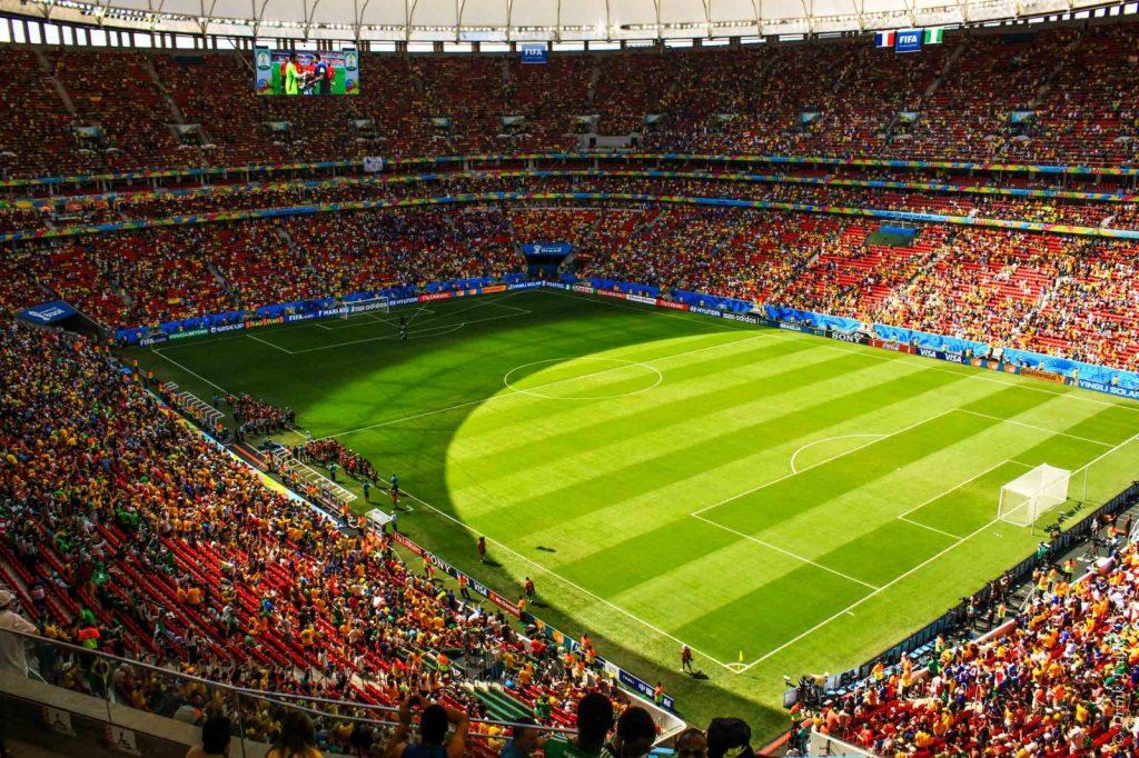 France vs Nigeria match in Brasilia, Brazil