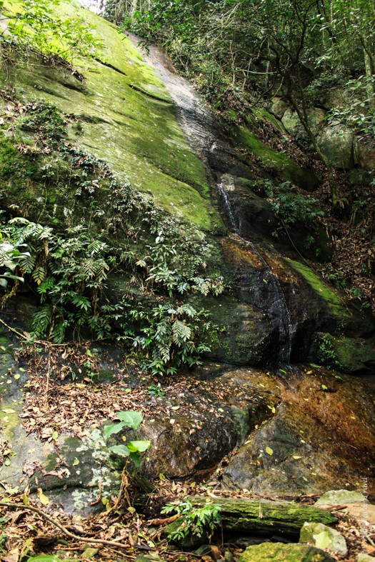 Another waterfall on our hike to Christ the Redeemer