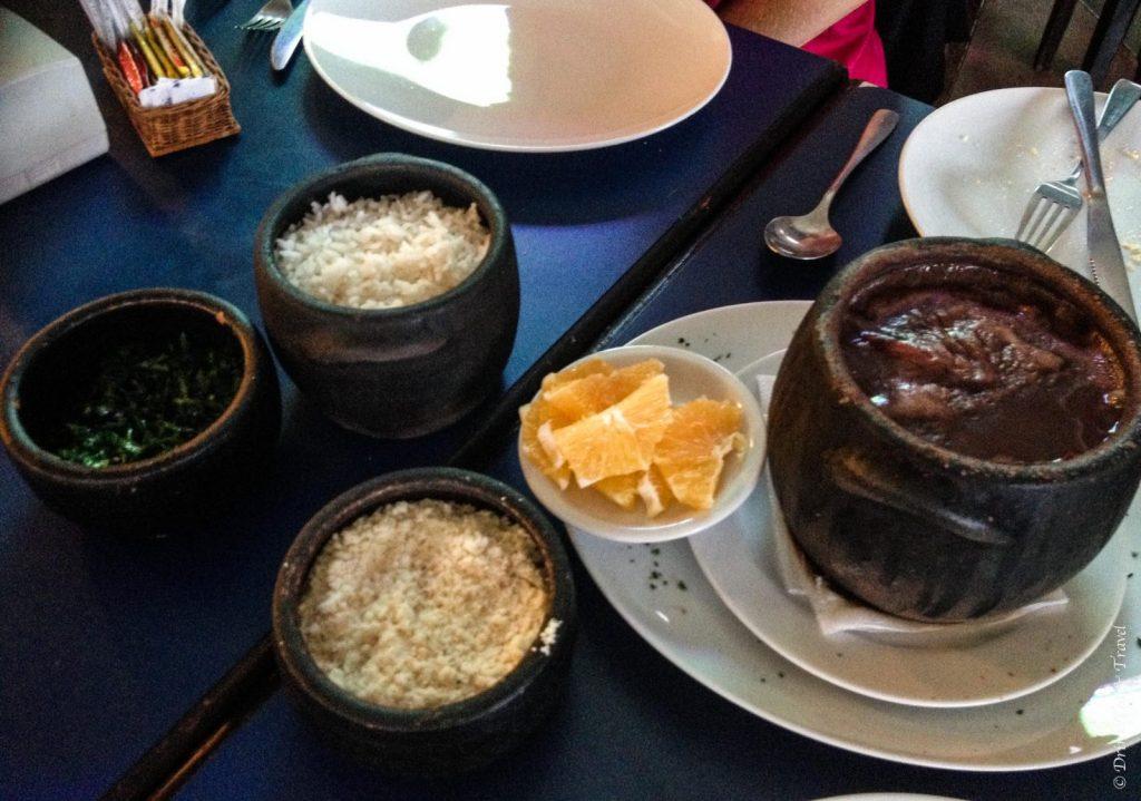 Brazilian dishes: Feijoada