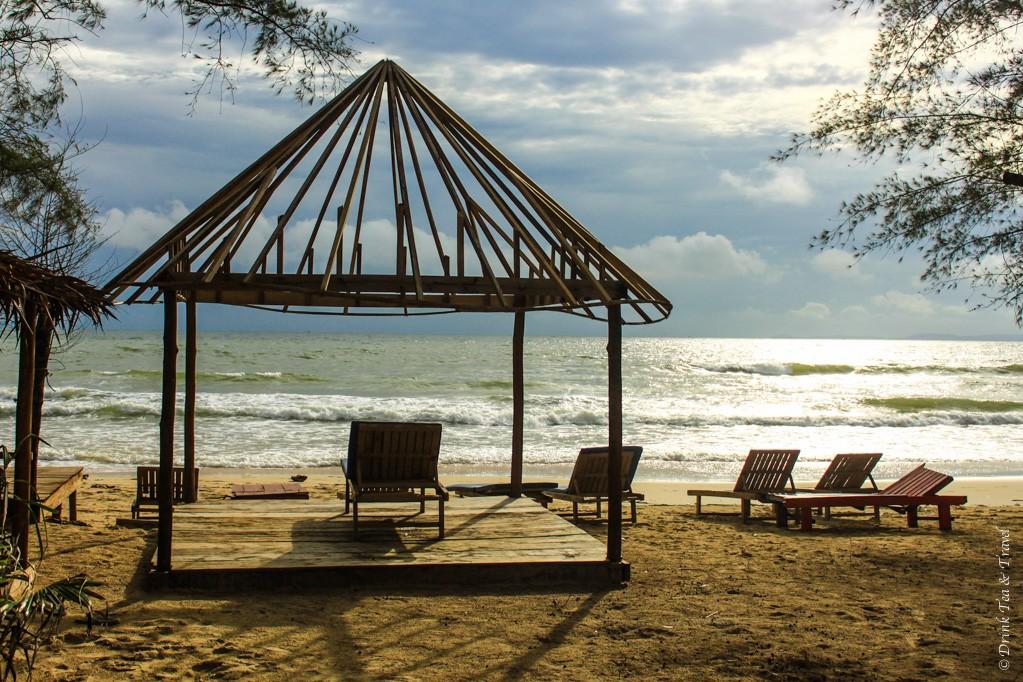 Beach in Sihanoukville, Cambodia