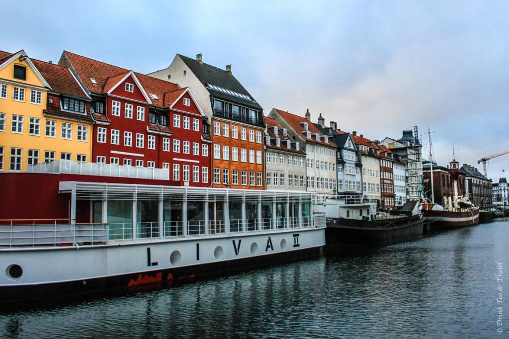 Vibrant buildings in Copenhagen's Nyhavn