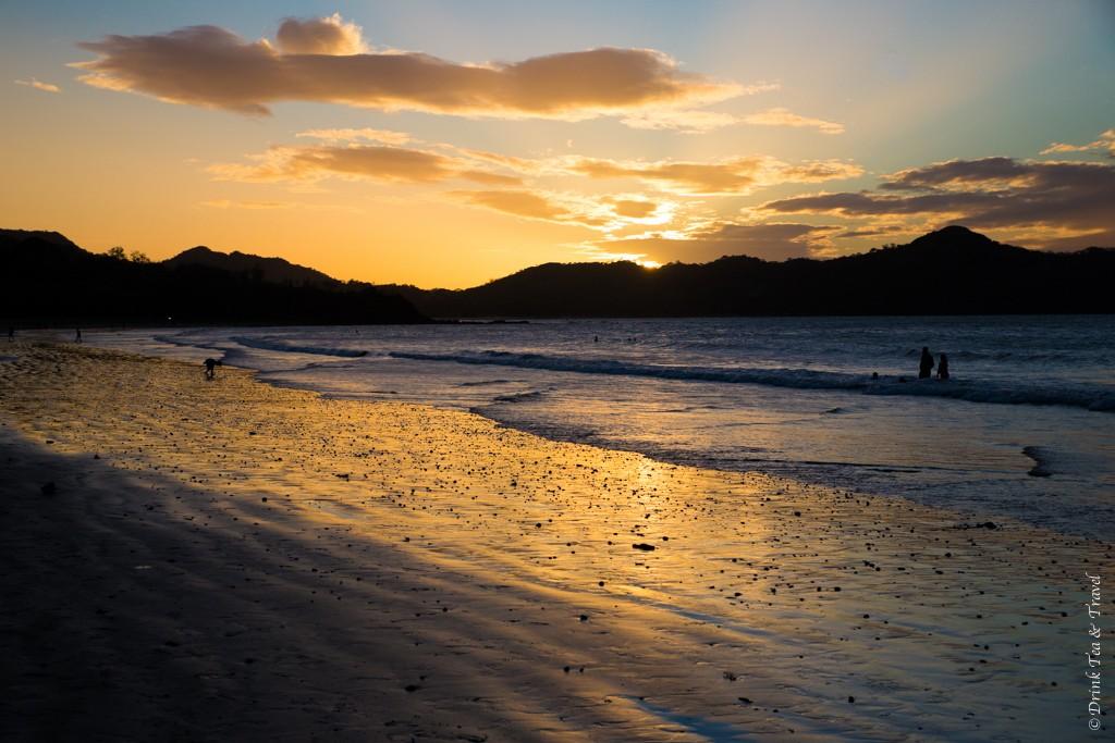 Sunset at Playa Conchal, Guanacaste, Costa Rica