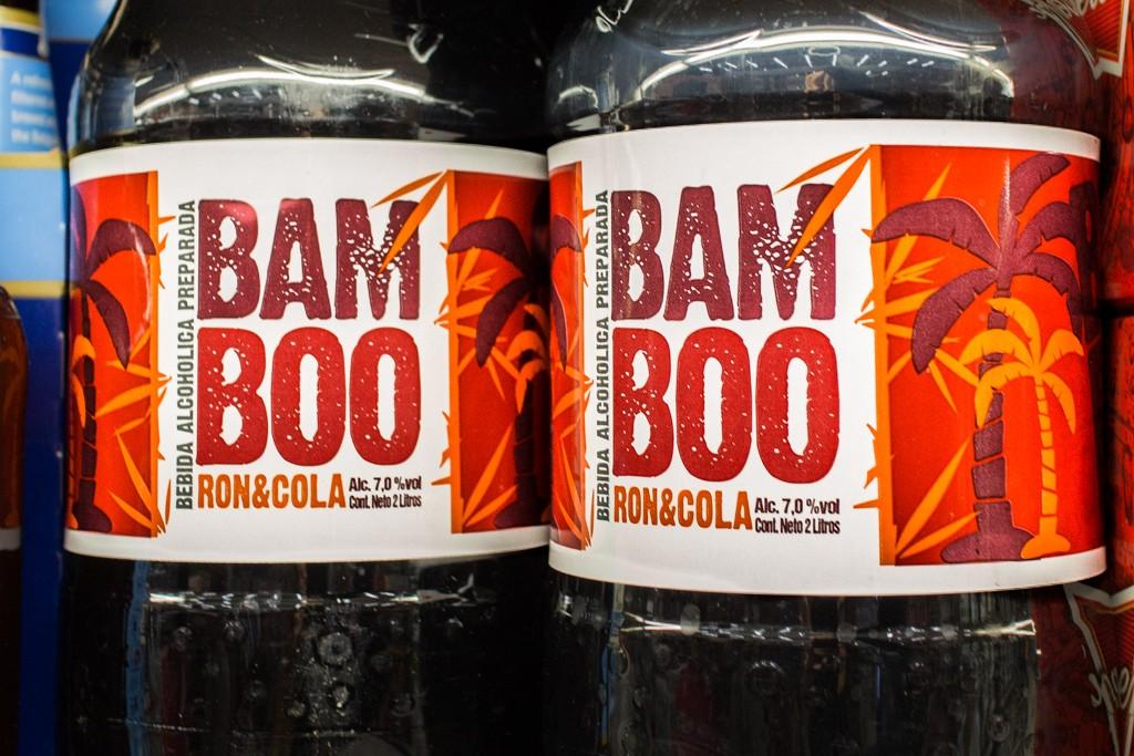 Costa Rican Supermarket: Rum and Coke
