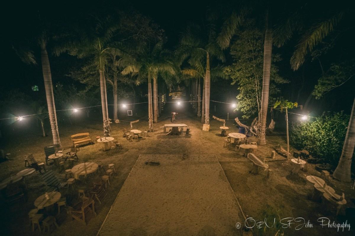 Wedding reception back yard. Costa Rica