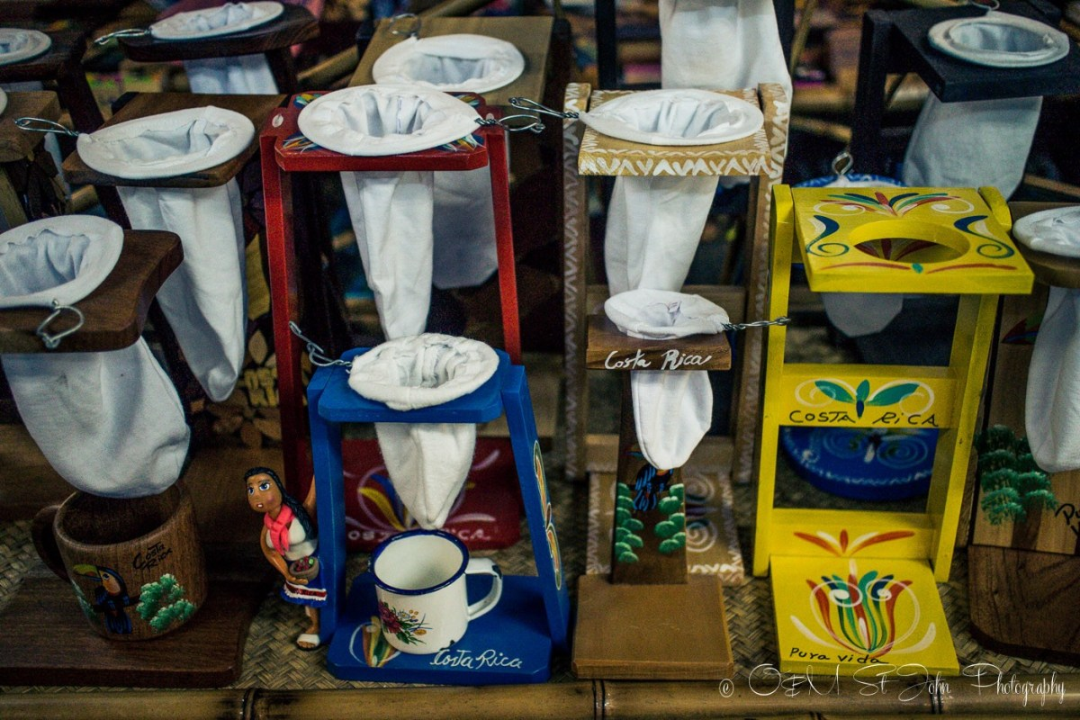 Costa Rica's famous sock coffee filter. Makes the best coffee, supposedly!