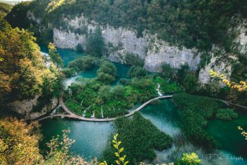 Plitvice Lakes National Park, Central Croatia