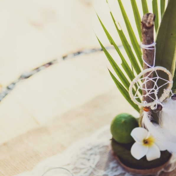 Centrepieces and and table decor. Wedding. Costa Rica