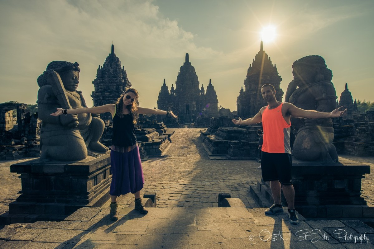 Candi Sewu, the lesser known temple just a few kms away from Prambanan. Java, Indonesia
